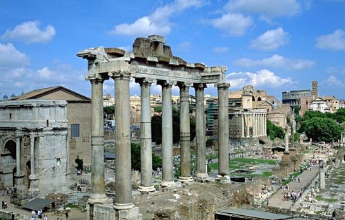 Forum Romanum, Rom (Kuva Wikipediasta)